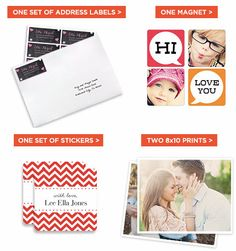 Shutterfly: FREE Address Labels, Magnet, Set of Stickers OR Two 8X10 Prints (Just Pay Shipping!) – Hip2Save