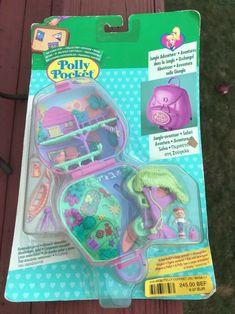 Silly Spinner Nuevo En Caja Vintage Polly Bolsillo Fun Fair Set De Juego Muñecas Modelo Polly Pocket