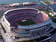 See a Cleveland Browns game at Cleveland Stadium Cleveland Browns Football, Cleveland Ohio, Cincinnati Bengals, Cleveland Rocks, Nfl Football, Akron Ohio, Alabama Football, Pittsburgh Steelers, Dallas Cowboys
