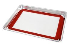 New Star 38422 Commercial 18-Gauge Quarter Size Aluminum Sheet Pan and Silicone Baking Mat Set, 9 by 13-Inch ** Review more details @ - baking necessities