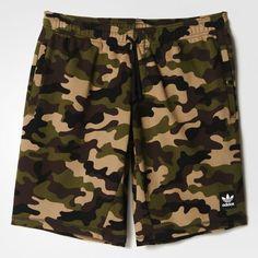 0a35f4509fb49 adidas - Shorts Camuflagem Clima Moletom Camuflado Masculino