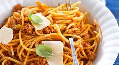 Spaghettis à la bolognaise