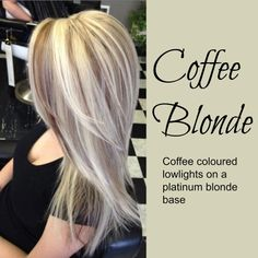 Coffee Blonde hair color                                                                                                                                                                                 More