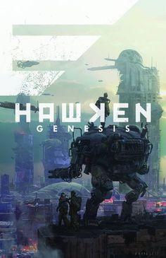 The Hawken Genesis graphic novel
