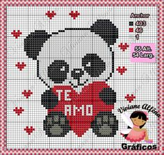 Panda apaixonado