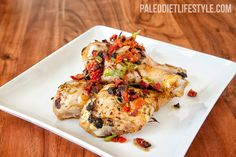 sundried tomato drumsticks recipe from the Paleo Diet Lifestyle  PALEO DIET PRIMAL FOODS FOOD PORN  RECIPES  HEALTHY RECIPES  HEALTHY FOOD  HEALTHY COOKING  COOKING   Paleo Diet Paleo Recipes #recipes #healthy #cooking