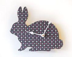 Bunny clock!