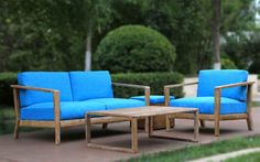 MIAMI Lounge Gruppe Outdoor Sofa, Outdoor Furniture, Outdoor Decor, Modern, Miami, Lounge, Home Decor, Group, Recyle