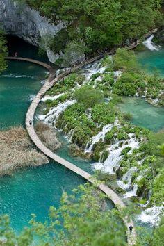 Plitvice Lakes National Park, Croatia.