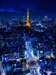 Tokyo, Japan at night is a sight to behold!  www.sundeviltravel.com