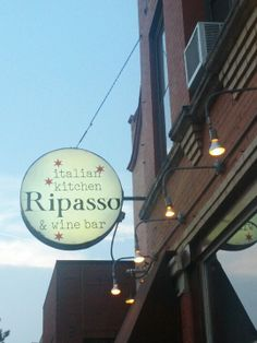 Ripasso: Have heard good things about this Italian restaurant.