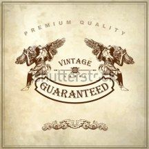 Hand draw ornate royal luxury premium quality