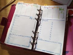 Combining weekly overview and daily pages - this is brilliant!