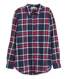 $24.99 Flannel Shirt, multiple colors | H&M US