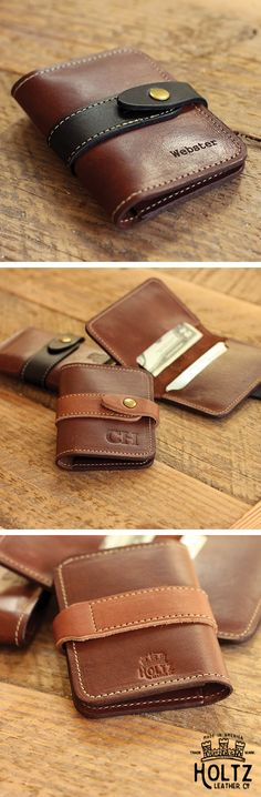 The Doolittle Fine Leather Snap Closure Wallet is handmade right here in our shop with the finest of Full Grain American leathers. We hand pick our leather hides from a local tannery ~ for a rustic look and feel. This is a gift that will be used and loved for a lifetime! Perfect for the executive, professional, father, or dear friend in your life.