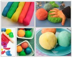 Fun with hands: Autism skills using Play dough - Building hand strength - Carla Schwartz - art therapy activities Playdough Activities, Autism Activities, Art Therapy Activities, Fun Activities For Kids, Crafts For Kids, Sensory Therapy, Therapy Ideas, Autism Resources, Motor Activities