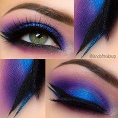 10 Bright Eye Makeup Ideas To Make a Statement!