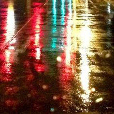 Rain #2 (square) by Jody Valentine