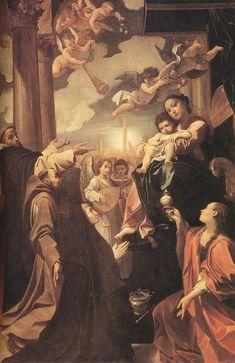 Ludovico Carracci - Bargellini Madonna, 1588.