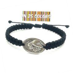 3941b4dd9b4 St Anthony bracelet, Saint Anthony of Padua, St Anthony medal, saint of  miracles, catholic bracelet, healing bracelet, protection bracelet