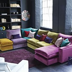 Masquerade Corner Sofa Collection on Housing Units