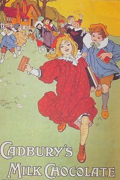 French chocolate poster for Cadbury
