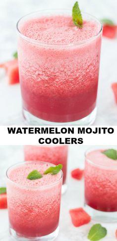 Watermelon Mojito Coolers - Blahnik Baker
