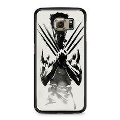 The Wolverine Sketch On Paper Art Samsung Galaxy S6 case