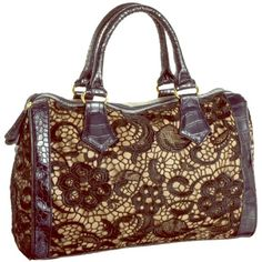 Big Buddha Lace Contrast Tote/Crossbody Big Buddha! Lace/Faux Leather Contrast Toe w/attachable Cross body Adjustable Straps, Front is Black Lace, Back is beige Faux Leather w/zip pocket.  Interior cloth with 3 sections, middle section zips closed separating the other two inside compartments, each interior side has two pouches for holding keys, phone, etc. Great Like New Condition! Big Buddha Bags Crossbody Bags