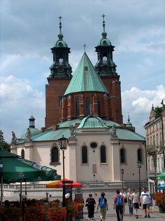 Ancient Polish capital city of Gniezno, Poland