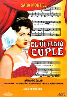 """DVD """"El último cuplé"""" con Sara Montiel."""