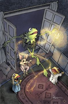 Muppets illustrations reenact classic tales and legends  http://io9.com/5906032/muppets-illustrations-reenact-classic-tales-and-legends#  EPIC.