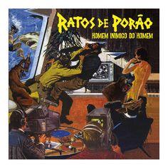 LP Ratos de Porão - Homem Inimigo do Homem #RatosdePorão #RDP #HomemInimigodoHomem