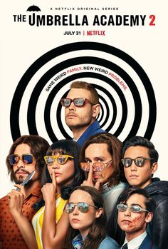 The Umbrella Academy 2 Movie Poster Netflix TV Series Quality Glossy Print Photo Art Ellen Page Size