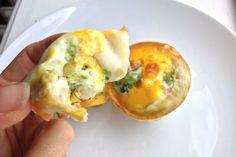 Eggemuffins til under 90 kalorier - Vektklubb