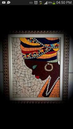 Best 12 Little Bunny Brooch/Wool felt cute bunny birthday's gift/Valentine's Day Gift/Children's brooch/Animal gift/Brooch OOAK/Gift for Best Friend Mosaic Tile Art, Mosaic Artwork, Mosaic Crafts, Mosaic Projects, Art Projects, Mosaic Tray, Mandala Art, Afrique Art, African Art Paintings