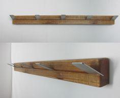 Diy auf pinterest zweige gardinenstangen und palletten for Garderobe altholz