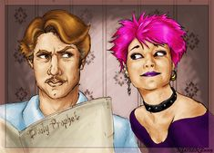 Remus and Tonks by napalmnacey.deviantart.com on @deviantART