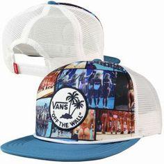Nouvelle Collection 2014   Vans - Hank Photo Trucker Cap Blue Steel