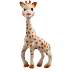 Sophie the Giraffe Rubber Teether/Baby Toy - BEST THING EVER! Every parent should have this for their teething baby. I'll probably get a new one for the new baby.