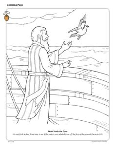 Noah sends dove. https://www.lds.org/bc/content/shared/content/images/gospel-library/magazine/fr10mar46_color.jpg