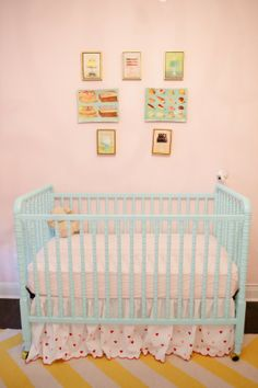 I would not put the rollers on the crib though  http://4.bp.blogspot.com/-cqyYSTG_ZiM/T9dylTUSrWI/AAAAAAAAb9A/DmRTyLQsOq0/s1600/peppermint+3.jpg