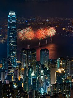 Hongkong National fireworks 2011