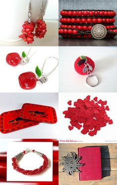 2108 - Love Red by Shelley on Etsy--Pinned with TreasuryPin.com