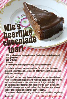 chocoladetaart