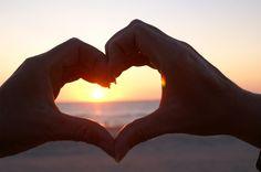 Een hart gemaakt samen met mijn geliefde!