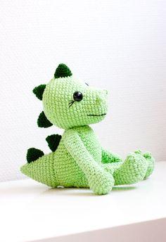 Amigurumi dragon soft toy soft sculpture  Diana by sofiasobeide