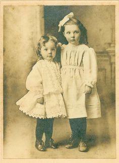 little Edwardian sisters