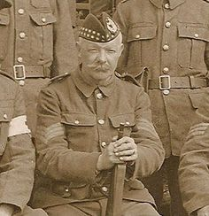 Gordon Highlander from Group photo