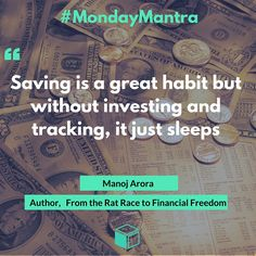 Investment Quotes From Monoj Arora, free to use. Credits - www.lendbox.in